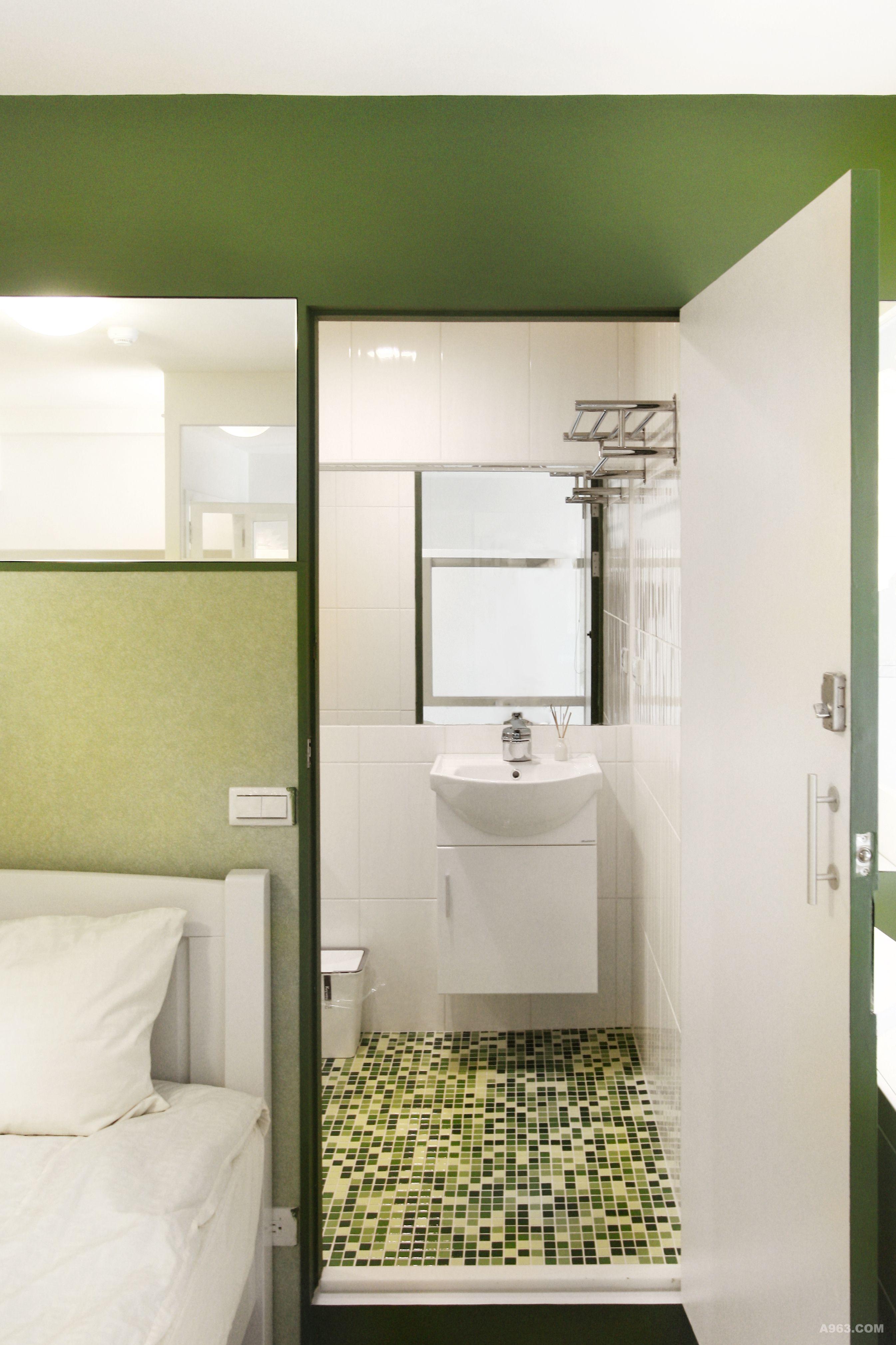 小清新森林浴室