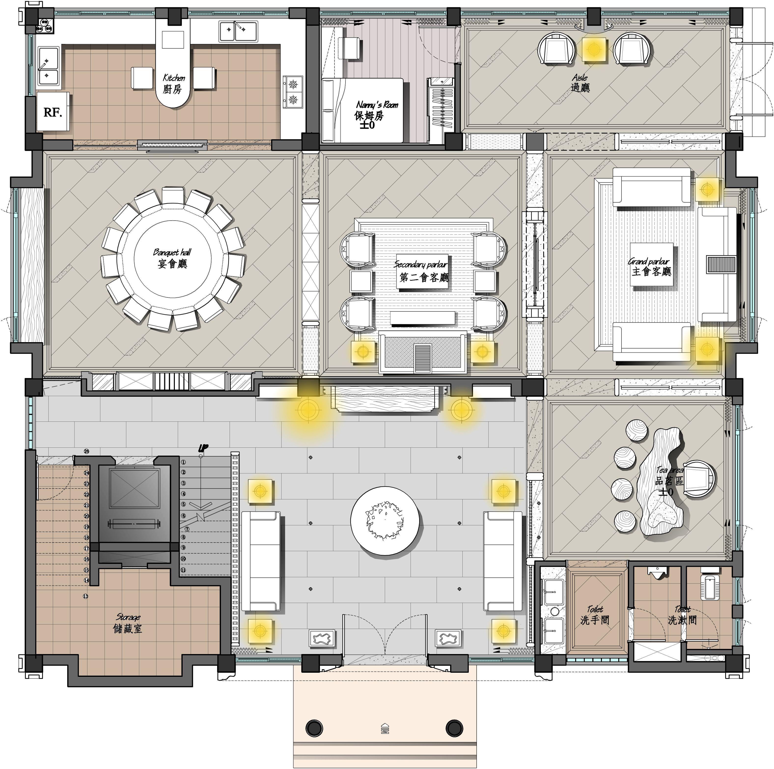 【z-house】--自建别墅设计说明图片